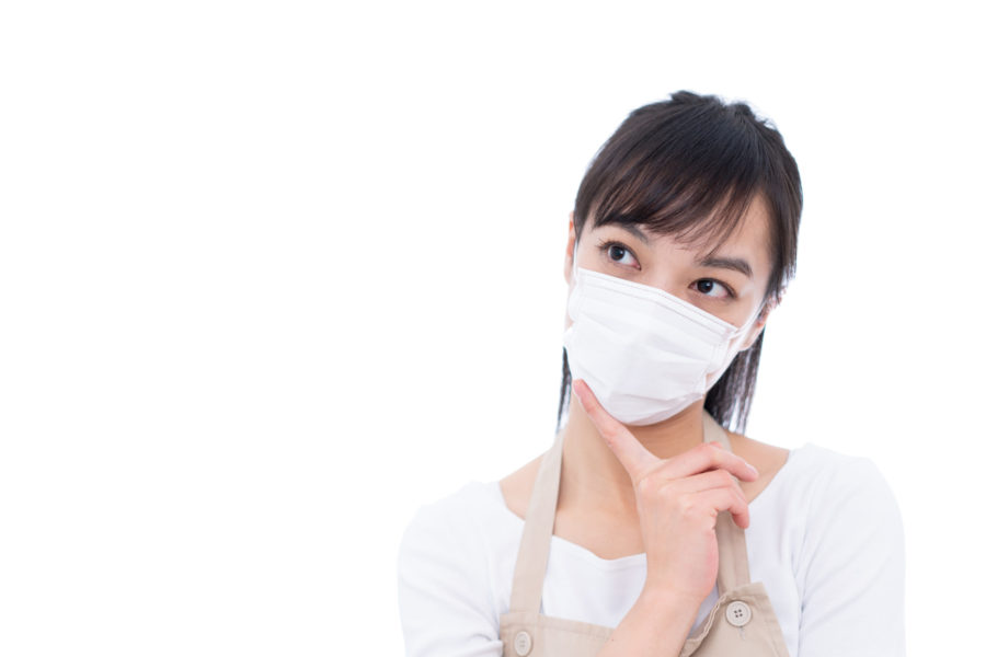 マスク使用方法